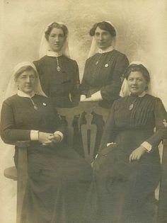 """Four """"Queen's"""" Nurses"""