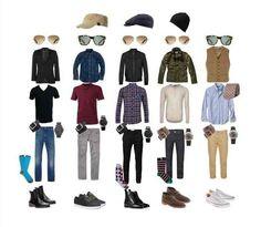 Estas son las prendas de ropa esenciales que todo hombre necesita tener en su closet: