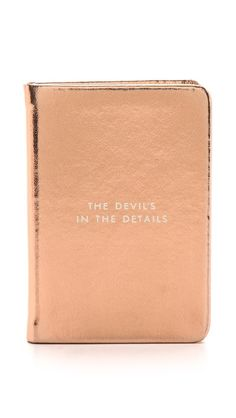 Kate Spade New York Devil in the Details Mini Notebook