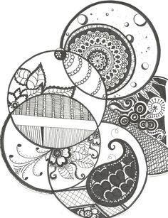 circle doodles.