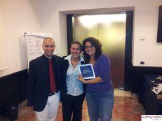 #yummywriting first edition con @Valentina Falcinelli e @Valerio Notarfrancesco ;)