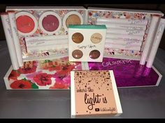 Colourpop Haul|Where the light is| In Bloom| Forget the fruitcake & more - YouTube