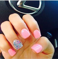 Pink Glitter by Atara11