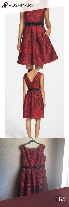 Eliza J NWT DRESS Eliza j NWT RED AND BLACK DRESS SIZE 16 Eliza J Dresses