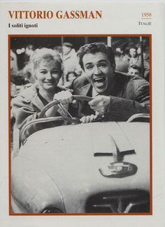 Vittorio Gassman - Italien Actor Film/Movie/Cinema Trading Card | eBay