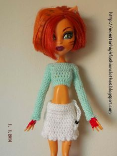 If you like this, visit my shop: http://mymonsterhighboutique.dawanda.com Ropa de Monster High s202 von My Monster High boutique auf DaWanda.com