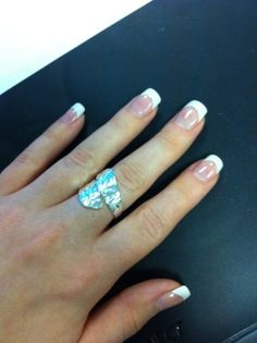Can i paint french tip acrylic nails