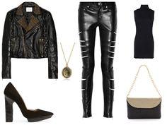 BombPop: Fashion Inspiration-- Edward Scissorhands-- Evening