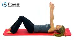Beginner Pilates Workout Video - Great Post Pregnancy Workout for New Mothers