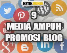 Berikut ini beberapa tempat atau media yang bisa dijadikan promosi situs blog agar bisa mendapatkan banyak pengunjung