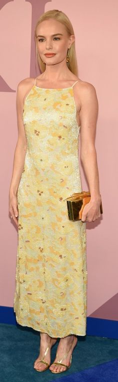 Kate Bosworth in Dress – Brock Collection  Shoes Aquazzura  Purse – Edie Parker