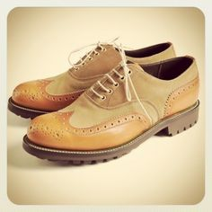 Barbour X Grenson, a match made in heaven