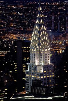 The Chrysler Building. Architecturally, one of the most beautiful buildings in NYC.