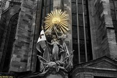 Saint Stephen's Cathedral by:Mirella_Lang Saint Stephen, Austria, Cathedral, Saints, Fictional Characters, Art, Santos, Cathedrals, Kunst