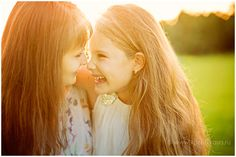 Family photosession - mother and daughter at golden hour / Семейная фотосессия…