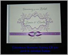 CreativDS - Gästebuch Hochzeit, Geschenk, Maigrün, Creme GB 270