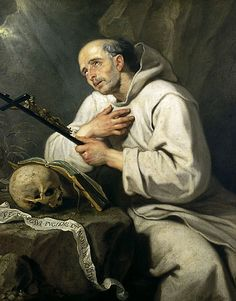 .Saint of the Day – 6 October – St Bruno (c 1030-1101) – Priest, Confessor, Hermit, Monk, Mystic, Founder, Philosopher, Theologian, Teacher, Advisor, Writer (c 1030 at Cologne, Germany –  1101 at Torre, Calabria, Italy of natural causes).  His body was buried in the church of Saint Stephen at Torre.   He was Beatified in 1514 by Pope Leo X and Canonised on 17 February 1623 by Pope Gregory XV.   Patronages –.....