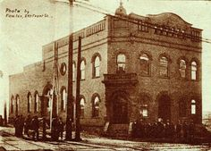 When the Plumbers and Pipefitters Union Hall at 201 Front, corner of Front and Butler, was new, it was called the Electric House because it was Marietta's power plant. It was also the police station and housed the Chamber of Commerce at some point.