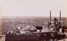 من اعلي جبل المقطم  -  القاهرة حوالي عام 1880 Old Egypt, Cairo, Ancient Egypt, Hand Warmers