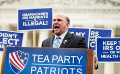 Rep. Louie Gohmert, R-Texas speaks at a rally outside the Supreme Court in Washington, Wednesday, March 4, 2015, as the court was hearing arguments in King v. Burwell, a major test of President Barack Obama's health overhaul which, if successful, could halt health care premium subsidies in all the states where the federal government runs the insurance marketplaces.
