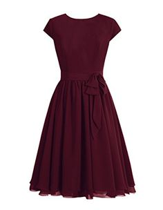 Tidetell 1950s Round Neckline Bridesmaid Dress Cap Sleeve Short Mother of Bride Dress Burgundy Size 22W Tidetell http://www.amazon.com/dp/B018JOP0X0/ref=cm_sw_r_pi_dp_z6LBwb1YEVZWF