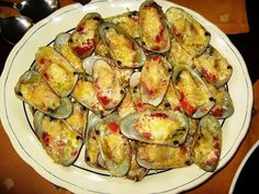 Eating Chilean: Machas a la parmesana YUMMY!!!