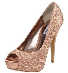 Steve Madden pumps #ladiesshoes #nudeheels