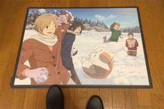 床広告 床POP フロアPOP フロアウインド  夏目友人帳 ニャンコ先生 Natsume's Book of Friends Madara Nyanko-sensei