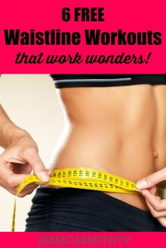 6 FREE Waistline Workouts That Work Wonders (just in time for swimsuit season!)