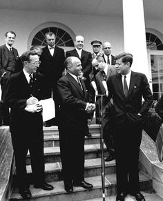 In May 1961, President John F. #Kennedy invited President Habib Bourguiba, Sr. of #Tunisia, to reiterate the U.S. support to an independent and sovereign Tunisia. Today, the 50th anniversary of the assassination of President Kennedy, we remember his legacy and we also remember the deep friendship between our two countries. http://tunisia.usembassy.gov/tunisian-american-relations.html To learn more about President Kennedy, visit: www.jfk50.org #JFK50