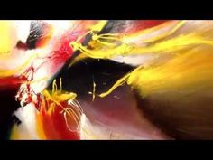 Large abstract painting by Dan Bunea - YouTube