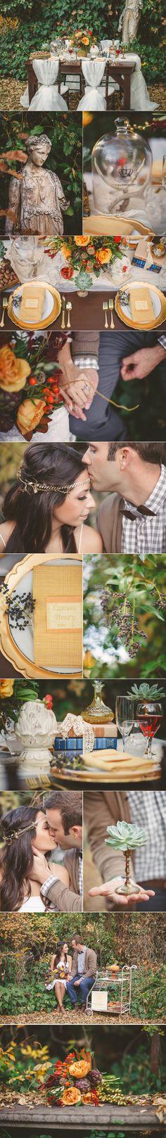 Gorgeous fall wedding shoot y Tyler Rye Photography