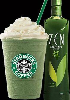 Starbucks Green Tea Latte and Green Tea Liqueur | Descubra a los Nikkei
