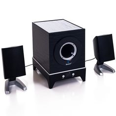 Bluetooth Multimedia 2.1 Channel Speaker System via mercatoconvenienza. Click on the image to see more!