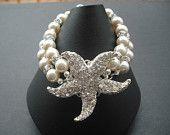 Sarfish Collection Version 3, Beach Theme Wedding, Bridal Bracelet, Rhinestone Bracelet, Vintage Style Bridal Jewelry, Wedding Jewelry