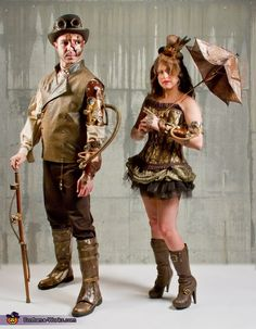 Steampunk Couples Co