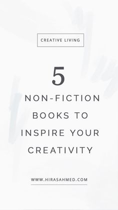 Reading these five books changed the way I think about creativity and the way I show up in the world as a multi-passionate creative. Picture Quotes, Love Quotes, Inspirational Quotes, Nonfiction Books, Book Recommendations, Reading Lists, Famous Quotes, Be Yourself Quotes, Self Help
