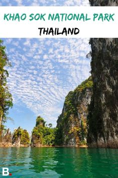 Get the absolute most out of your trip to Khao Sok National Park. Thailand Travel Backpacking, Thailand Travel Guide, Khao Sok National Park, National Parks, Vietnam Travel, Asia Travel, Big Ben, Singapore Travel, Europe