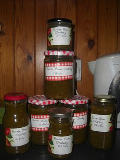 Fabulous Runner Bean Chutney Recipe