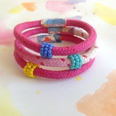 Image of Bead wrap bracelet