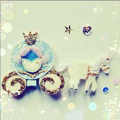 Princess Cinderella Carriage Inspired Hair por LittleMagicPieces