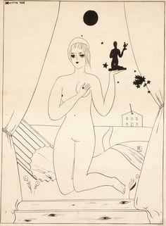 René Magritte - Ika Loch's Bordello, 1925
