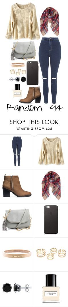 """""""Random 94"""" by megan-walz21 ❤ liked on Polyvore featuring Topshop, H&M, Humble Chic, Chanel, BERRICLE and Marc Jacobs"""