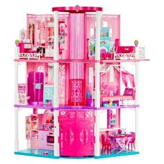 The Barbie Dream House: proof that children's dreams are mere patchwork quilts of adult nightmares.