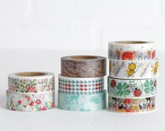 Choose One Washi Tapes Thank You Honey Bee by LobsterBisqueVintage