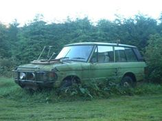 Range Rover Classic, such a sad sight!