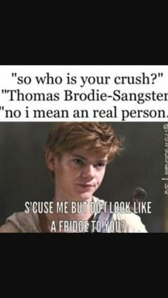 This is for every single fan of Thomas Brodie-Sangster and Newt from The Maze Runner. Maze Runner Thomas, Newt Maze Runner, Maze Runner Funny, Maze Runner Movie, Thomas Brodie Sangster, Maze Runner Trilogy, Maze Runner Series, James Dashner, Fangirl