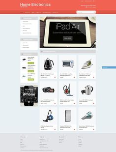 20+ Greatest Cell Phone, Camera & Electronics Store Shopify Themes - Home Office Tech Gear (theme for Shopify) Item Picture
