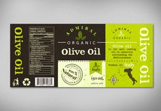 Olive oil packaging by electr0nika #POTD99 11.03.2013 #green #italy #tasty