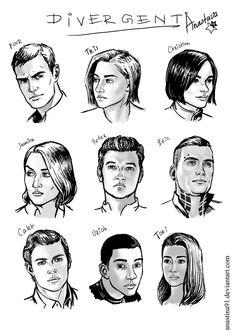 Divergent by Anastina91 on DeviantArt Divergent Memes, Divergent Four, Divergent Fandom, Peter Divergent, Tfios, Divergent Fan Art, Divergent Hunger Games, Divergent Trilogy, Divergent Insurgent Allegiant